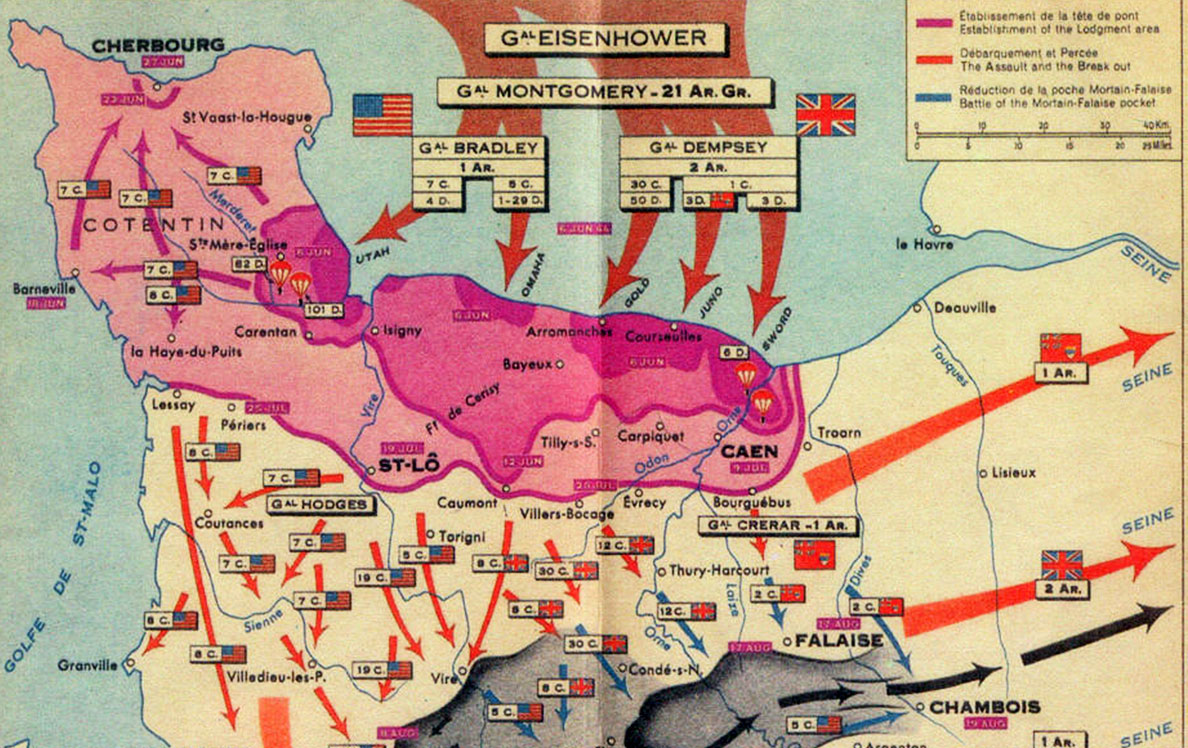 Seine Bay Normandy 70 Years After D Day Image Of The Week