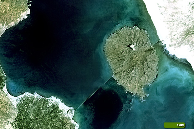 Lake Urmia Iran Change Detection Earth Watching
