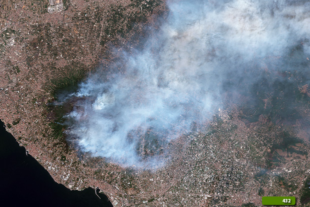 mount vesuvius fire floods natural disasters earth watching