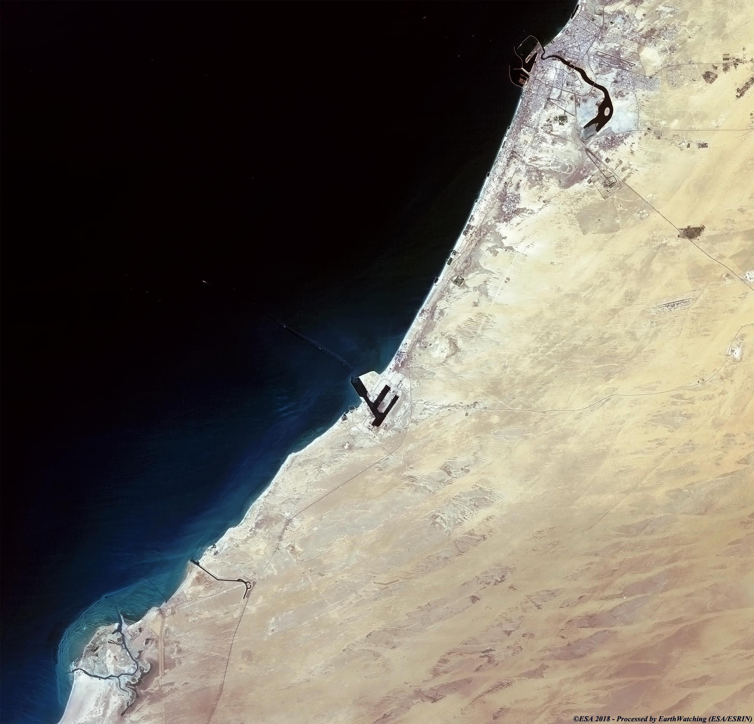 Dubai United Arab Emirates Image Of The Week Earth Watching