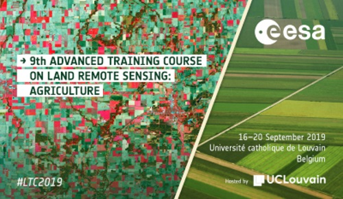 9th Advanced Training Course On Land Remote Sensing