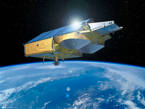 CryoSat in orbit