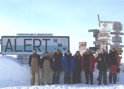 CryoVEx	2011 experiment ground team