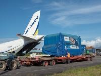 Unloading MetOp-C