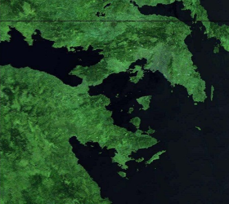 THERMOPOLIS campaign- Landsat TM imagery acquired 24 July 2009 over Athens