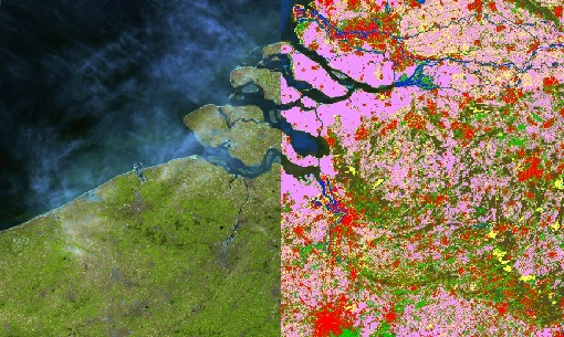 Proba-V global land cover maps