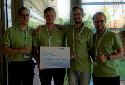 2019 winners of the Space App Camp - Vake | Catch
