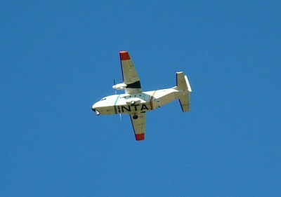 AGRISAR 2006 campaign plane
