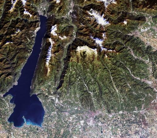 AVNIR-2 Lake Garda