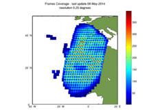 Maspalomas Landsat TM GTC density map
