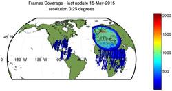 Matera Landsat TM GTC density map
